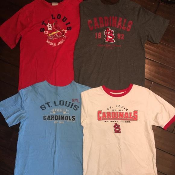 sports shoes ea616 760c7 St. Louis Cardinals boys shirts